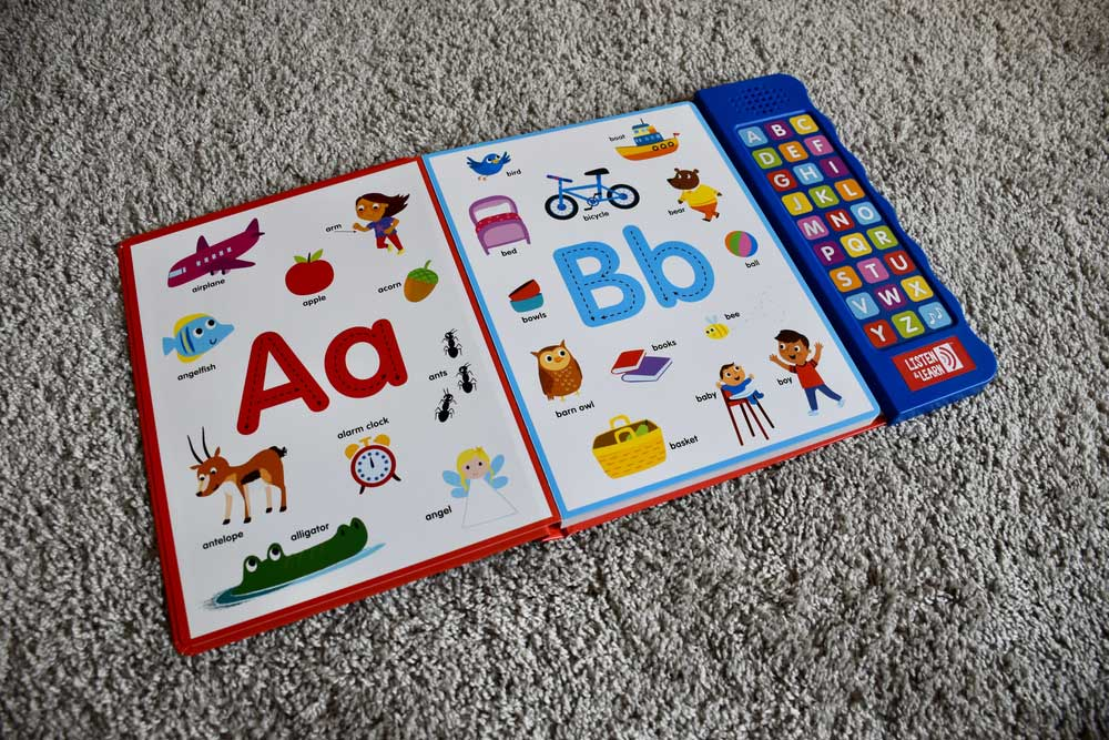 a baby sign language book
