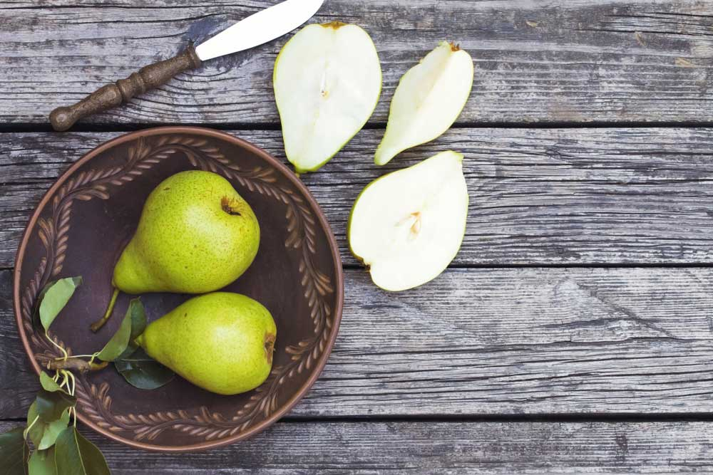 Picture of ingredients, pear