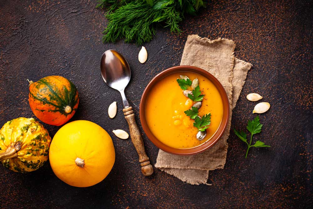 best baby food for constipation--Pumpkin pictures