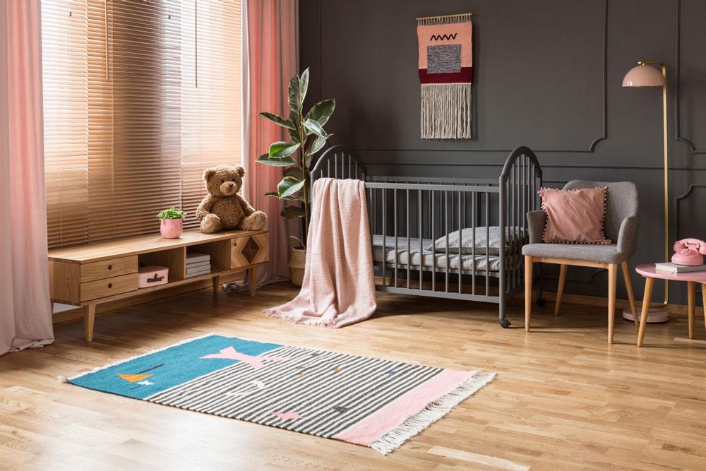 Beautiful baby crib